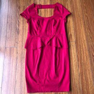 Torrid sz 12 career peplum sheath dress